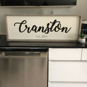 Rustic Hand-Painted Signs & Decor ( Custom Only )