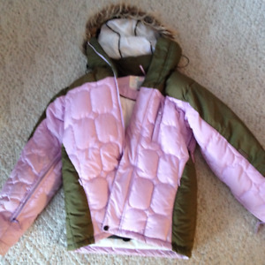 Ladies Billabong Down Filled Ski Jacket - size small