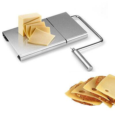 Slicer-board (Cheese Slicer Board Edelstahl Drahtschneiden Kitchen Hand DE HOT SELL)