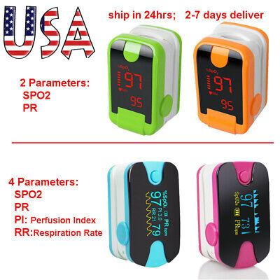 Oximeter Pulse Finger Oximetro Pulso Oxy Meter Spo2 Pr Pi Rr Monitor Ce Fda Home