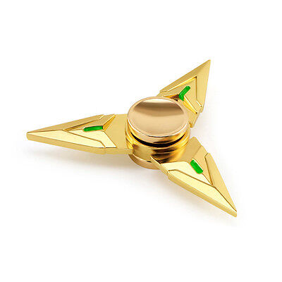 Hand Fidget Spinner Zinc Alloy Triangle Dart-shaped Toy ADHD Autism Focus EDC