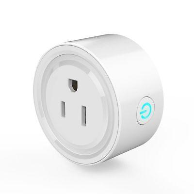 Wi-Fi Smart Plug Wireless Outlet US Socket Works w Amazon Echo Alexa Switch G7E4