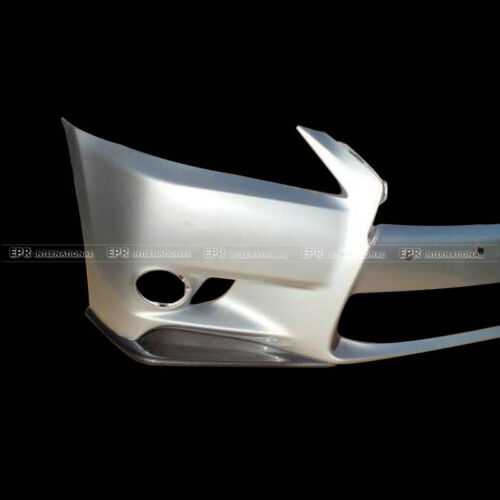 For Lexus IS250 IS350 14-16 JDM Style Carbon 2Pcs (F Sports Bumper) Front Lip