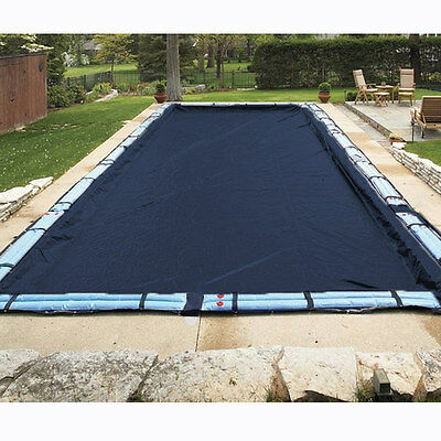 18'x36' Rectangle Economy Inground Pool Winter Cover - No Tubes - 8 Yr Warranty