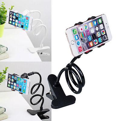 360° Halterung Tisch & Bett Schwanenhals Halter Ständer Handy Smartphone Ständer