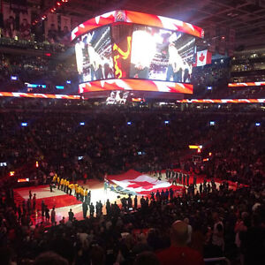 Toronto Raptor Tickets section 121M r28
