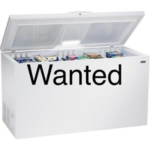 WANTED,  very large chest freezer