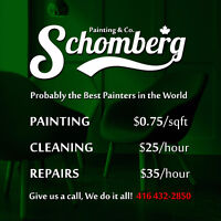 Painting, Cleaning and Repairs
