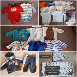 Very Good Condition 3-6m Baby Boy Clothes - assorted prices