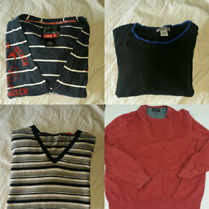 5 Name brand sweaters (size xl mens)
