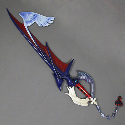 Kingdom Hearts SORA Riku Cosplay Kostüm Waffe Blade key Schlüssel Schwert (PVC)