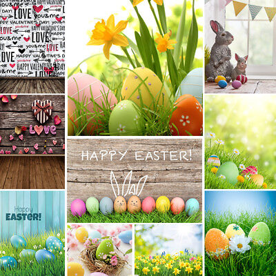 Photography Backdrops For Photographers Colorful Easter Eggs Studio - Easter Photography Backdrops