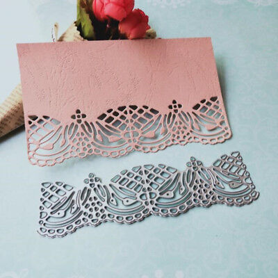 Lace Metal Cutting Dies Stencil Scrapbooking Paper Card Embossing Decor Craft - Paper Embossing