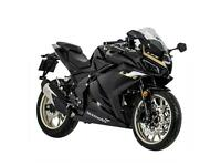 Lexmoto LXR125 4T L/C New 2021 Model- only one red left in stock