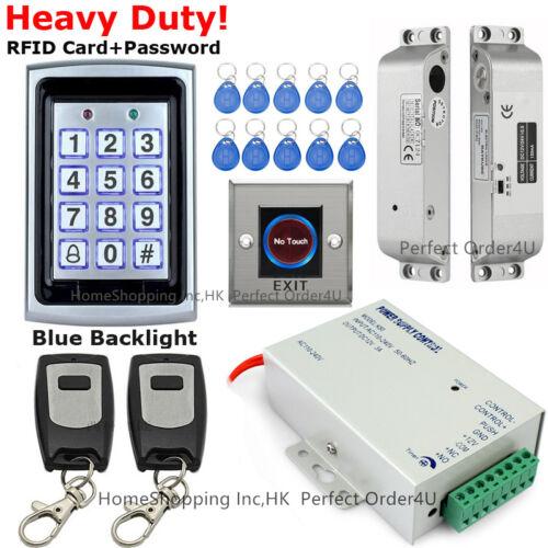 Metal RFID Card+Password Security Door Access Control System+Electric Bolt Lock
