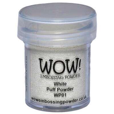 WOW! Embossing Powder 15ml White Puff 5060210520816
