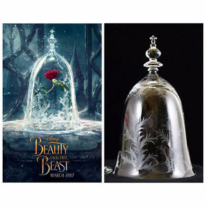 Beautiful Glass Custom Made Bell Jar (Beauty & The Beast)