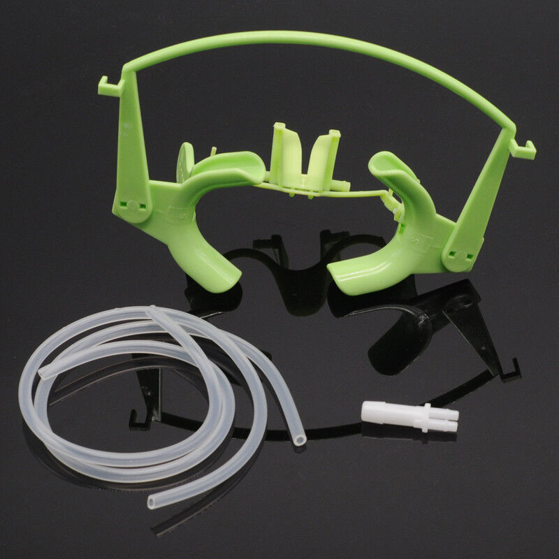 Dentist Orthodontic Cheek Retractor With Salive Suction Function Mouth Opener