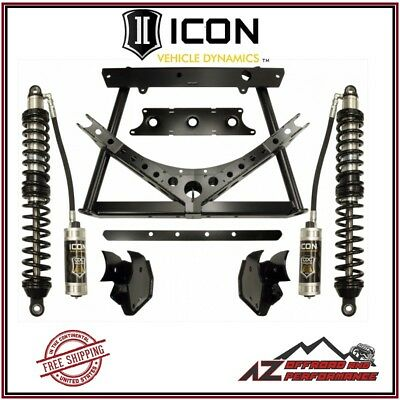 "ICON 0-3"" Rear Stage 2 Coilover Conversion System for 2007-2018 Jeep Wrangler JK"