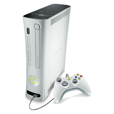Microsoft Xbox 360 Core White Console Complete