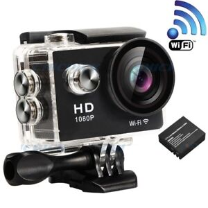 WIFI Waterproof Sports 1080P HD Video Action Car Dash Camcoder