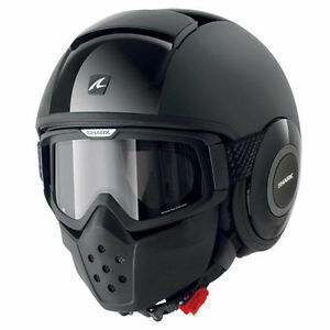 "Helmet ""Shark Raw Dual Black"""