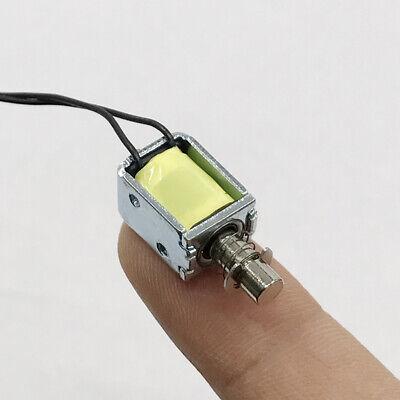 Dc 3v-6v 5v Push Pull Through Type Mini Solenoid Electromagnet Electric Magnet
