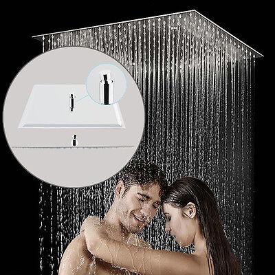 50x50 Duschbrause Edelstahl Regenbrause Duschkopf Regendusche Quadratisch Brause