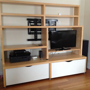 Ikea media wall unit