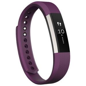 Fitbit Alta Fitness Tracker - Large - Plum- NEW