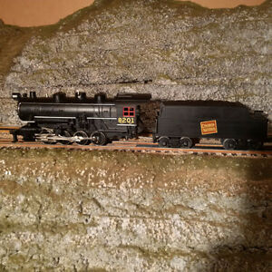 Lionel Style - MTH CN 0-8-0 Steam Engine w/Protosound
