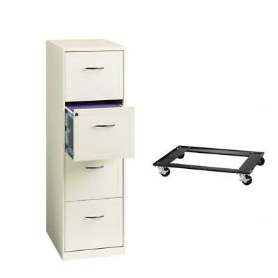 4 Drawer Vertical File Cabinet And Commercial Cabinet Dolly