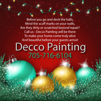 Decco Painting Commercial, Residential Christmas Special in Ad