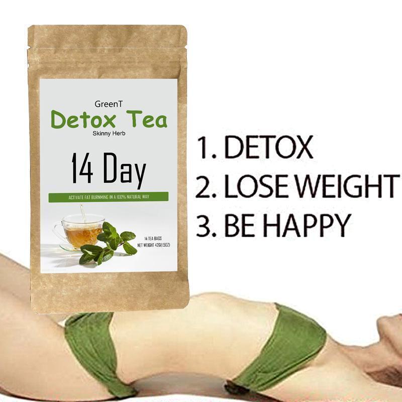 Green Tea Detox Diet Tea Weight Loss Organic Tea for Women M