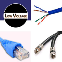 New Construction Homes Low Voltage Wiring & Installation