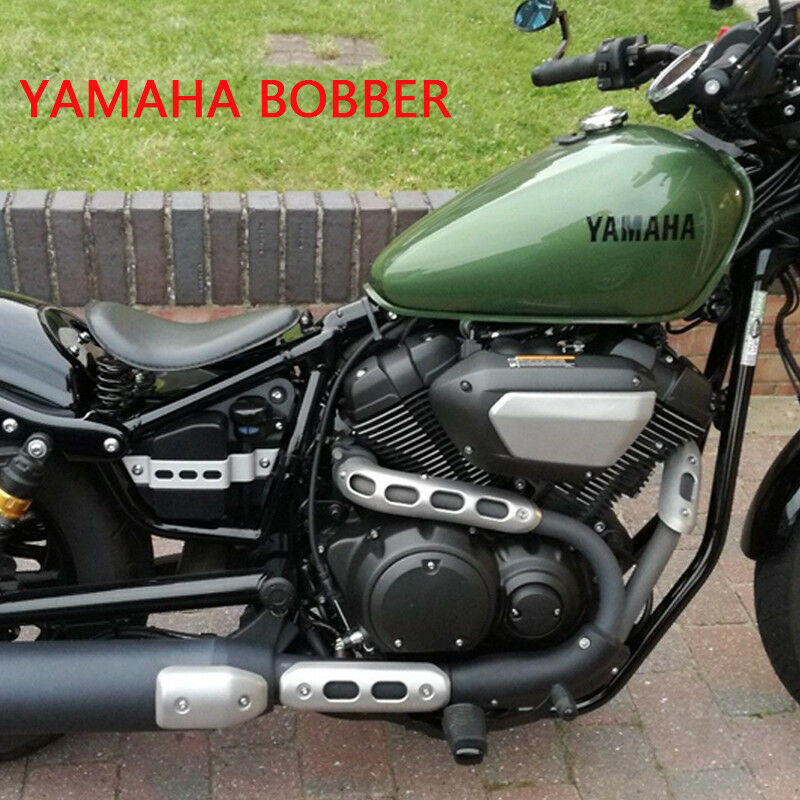 Details about Bobber Motorcycle Solo Seat Leather Classic For Yamaha XVS  Dragstar 400 650 1100