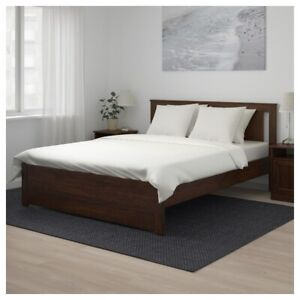 Bed with Mattress - Queen, include free table fan & iron stand