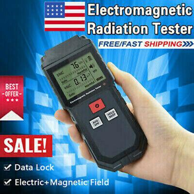 Et825 Detector Electromagnetic Radiation Tester Geiger Counter Digital Meter Us