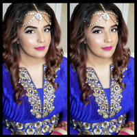 Bridal &Party Makeup special 45$ ( Home Service )