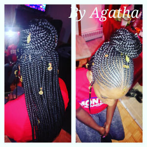 Braiding and african hairstyling / tresses et coiffure africaine