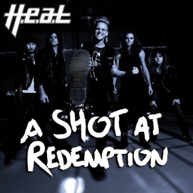 H.E.A.T - A SHOT AT REDEMPTION  VINYL SINGLE NEU