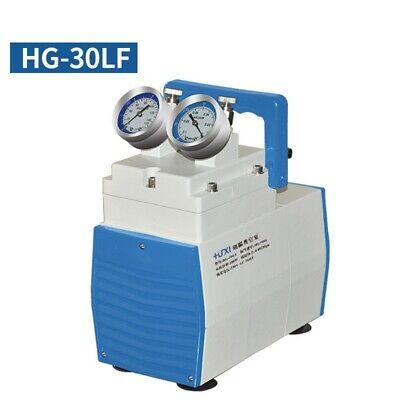 Oil-free Lab Diaphragm Vacuum Pump Hg-30lf 30lmin 200mbar Anticorrosive Type