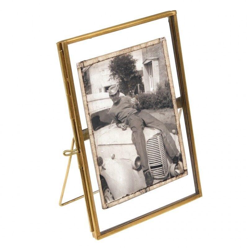 Wedding Decorations - 8 x Brass Glass Photoframes 15 x 10 cm - Table ...