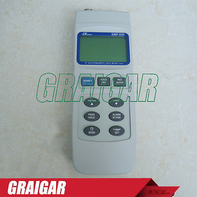 Lutron Emf-839 2 Probe 3-axis Emf Tester Rf Electromagnetic Field 100khz 3ghz