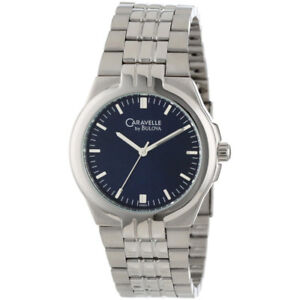 NEW Caravelle by Bulova Men's 43A04 Stainless Steel Watch