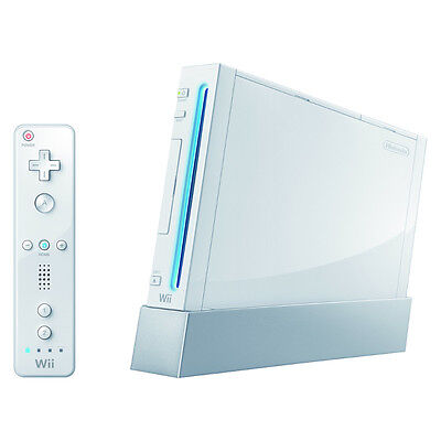 Nintendo Wii Launch Edition White Console (NTSC) Very Good Condition