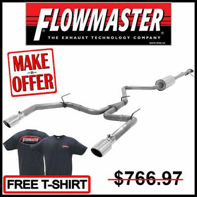 Flowmaster 2013-16 Dodge Dart 2.0L/2.4L/1.4L Turbo dBX® Cat-Back Exhaust System