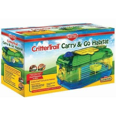 Kaytee CritterTrail Carry & Go  travel sized Habitat (Mini 1)