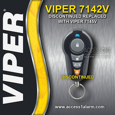 Viper 7142V 1-Way 4-Button Replacement Remote Control EZSDEI7142 7145V Upgrade