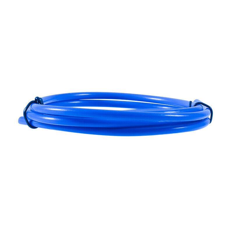 1M 3D Printer Teflon Tube Feeding Carbon Fire Pipe For 1.75mm Filament Blue PTFE